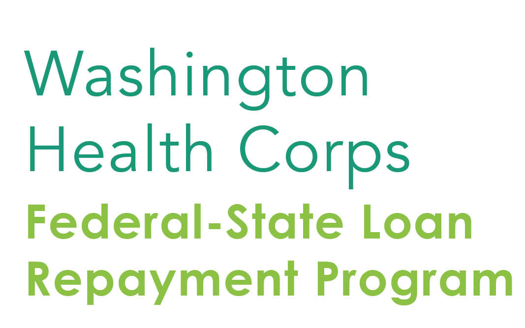 Washington State Federal-State Loan Repayment Program Graphic