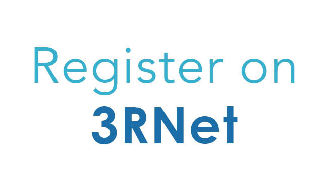 Register on 3RNet graphic