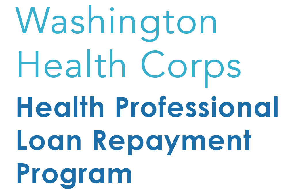 Washington State Health Professional Loan Repayment Program Graphic